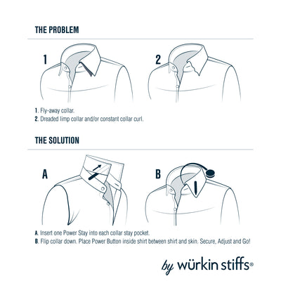 how to use collar stays