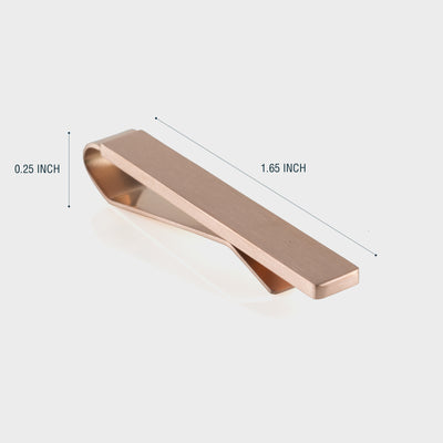 Rose Gold Tie Bar