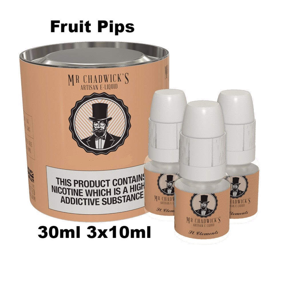 Fruit Pips flavour Vape liquid uk made