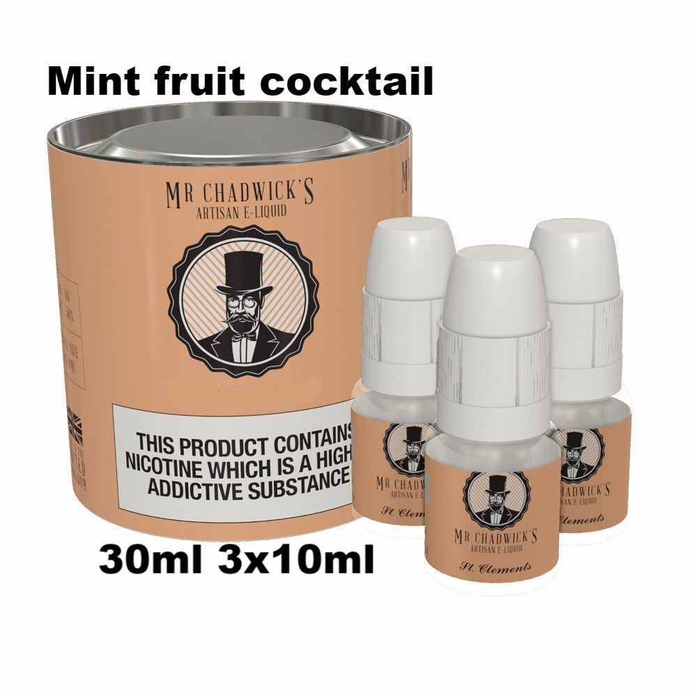 Mint Fruit Cocktail Vape liquid uk made