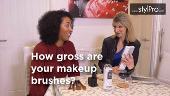 How gross are your makeup brushes?