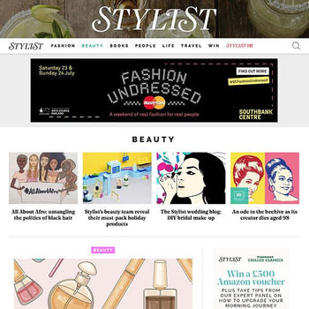 Stylfile shortlisted for Stylist magazine 'Best Beauty Buy' awards
