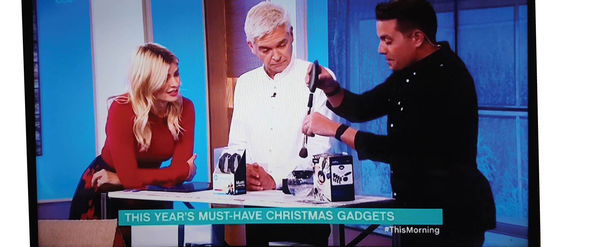 Stylpro in ITV This Morning with Holly Willoughby