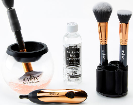 STYLPRO Rose Gold Brush Care Collection