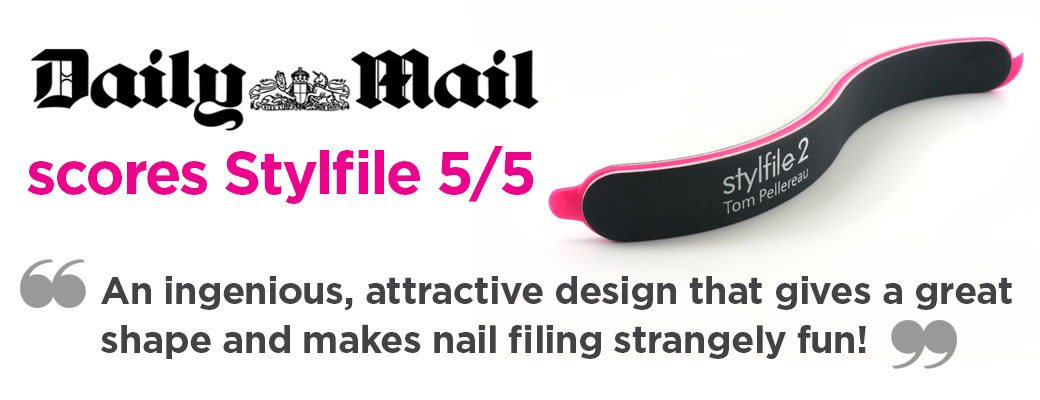 Stylfile nail file curved