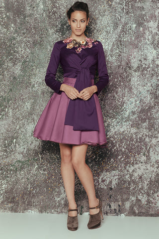 Falda METALPOSH Purple FW16