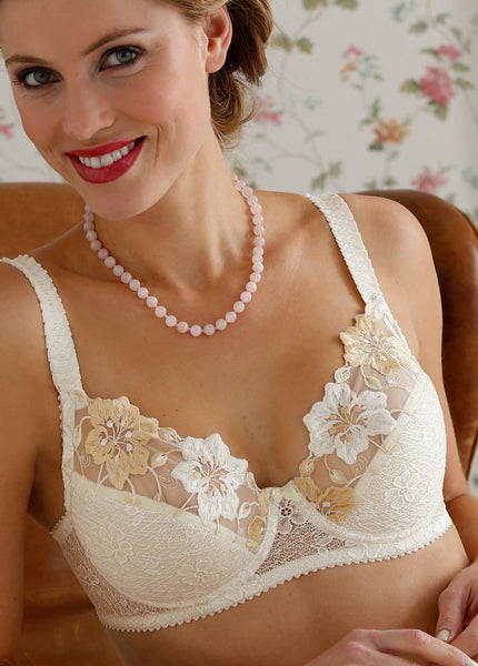 Romantic wire bra