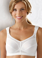 Soft cup bra with extra shoulder support - MyBraOutlet - 2