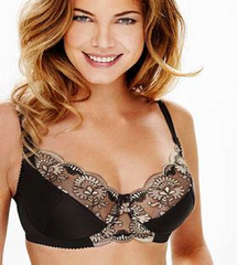 Luxurious underwired bra in multicolored embroidery - MyBraOutlet - 2