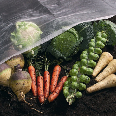Fine garden Insect Net with vegetables - Wondermesh