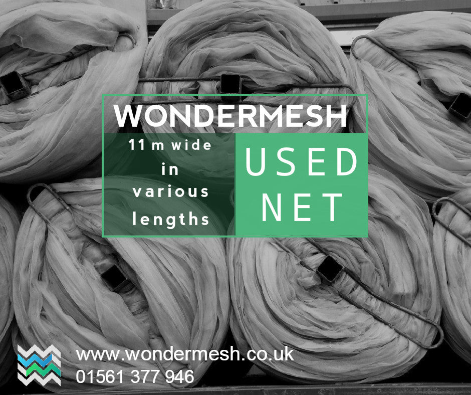 Used Netting 11m Wide