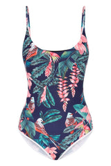 haleakala scoop swimsuit | tropical print