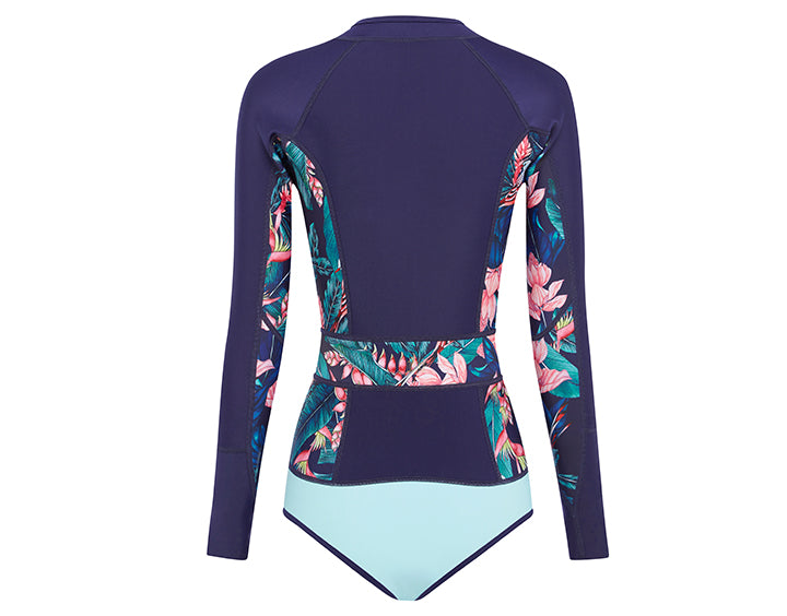 Haleakala Long Sleeve Spring Suit | Tropical Print