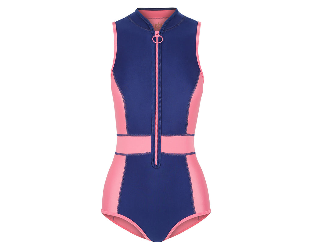 Jennifer Tank Suit | Blueberry