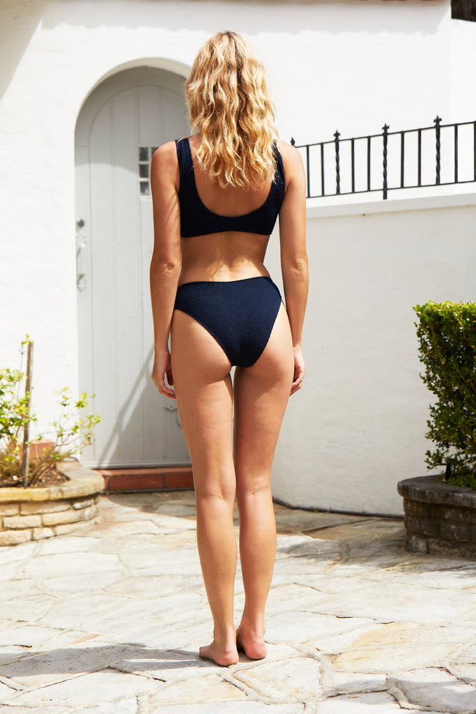 Julia One Piece Suit | Blueberry