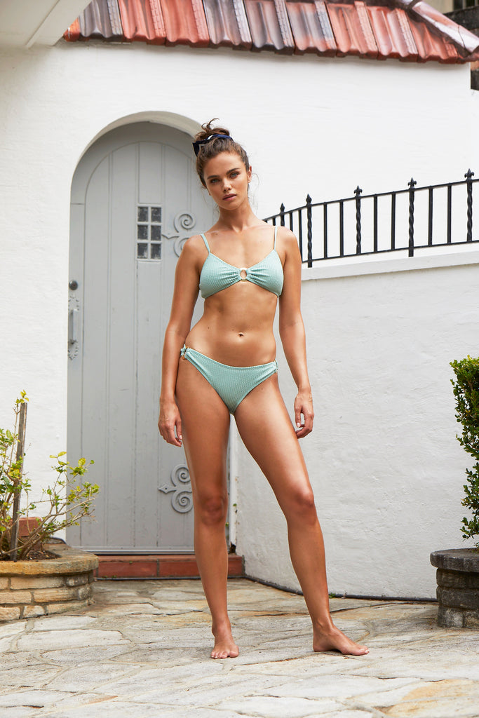Long Island Bikini Top | Spearmint