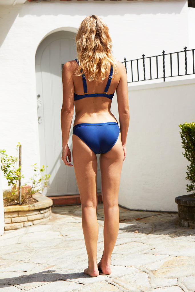 Hamptons Bikini Pant | Blueberry