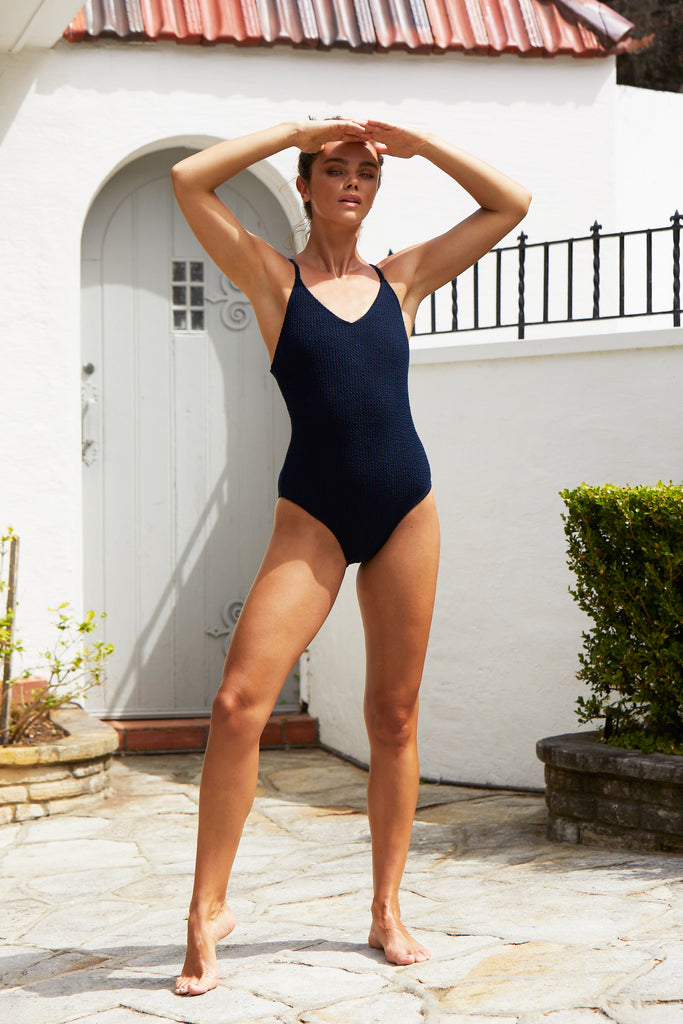 Margot One Piece Suit | Blueberry