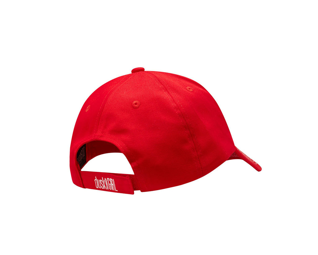 duskii Girl Yara Cap | Cherry Red