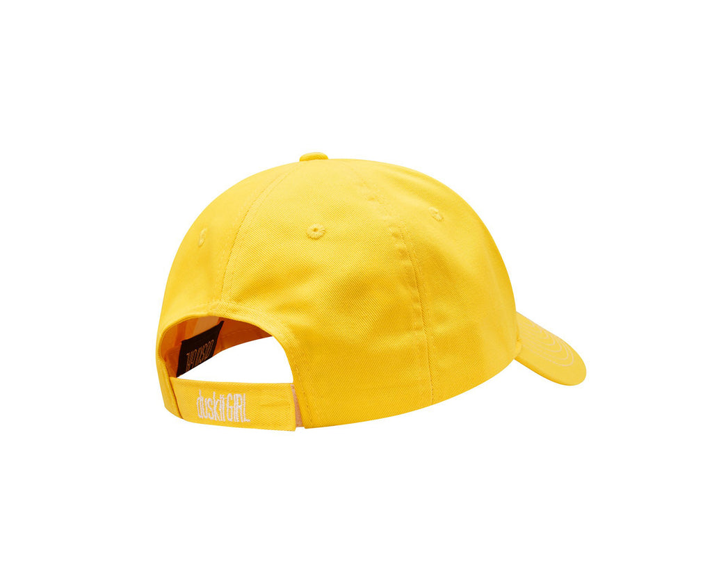 duskii Girl Amelie Cap | Canary Yellow