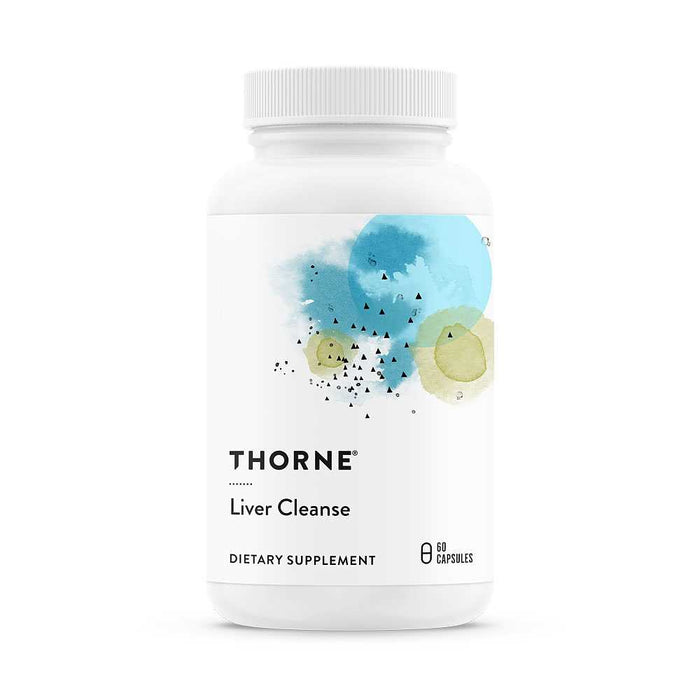 Liver Cleanse, Thorne Research 60 kapsler