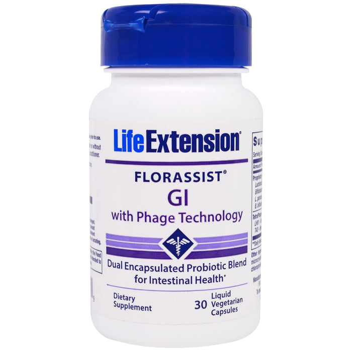 Florassist GI (with Phage Technology) Life Extension