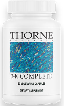 3-K Complete (Vitamin K1+K2), Thorne Research