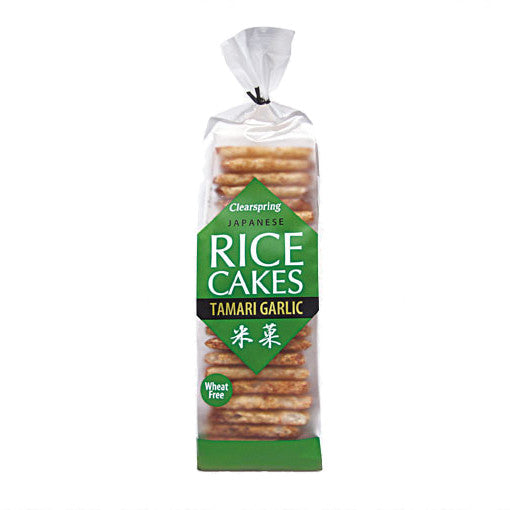 Japanese Rice Cakes w/ Tamari & Garlic, Clearspring