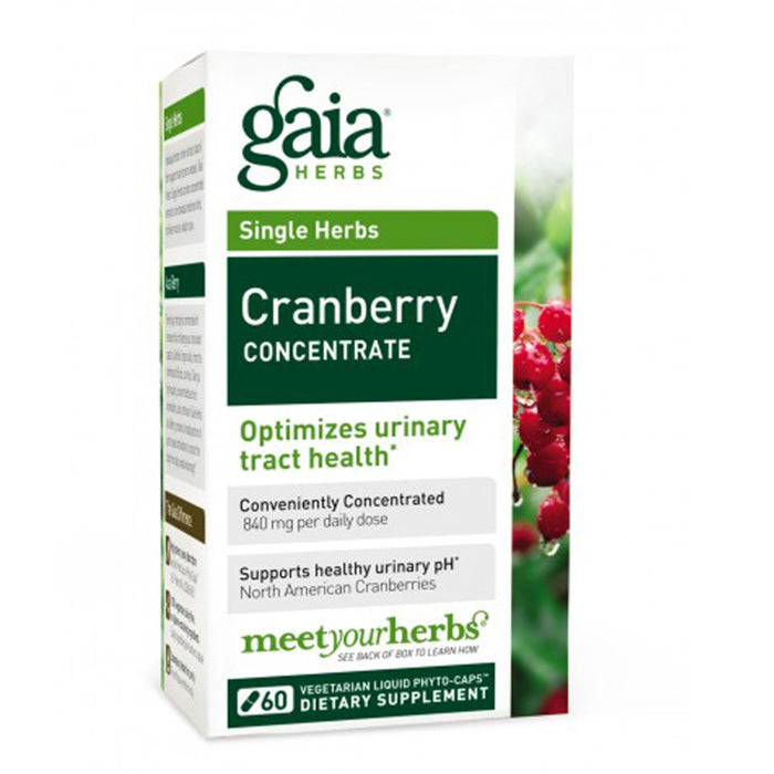 Cranberry Concentrate, Gaia Herbs