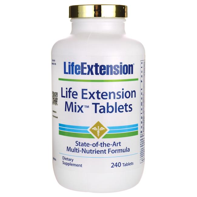 Life Extension Mix Tablets (without copper)