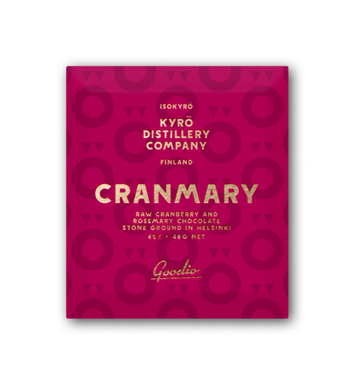 Cranmary (62%), Goodio Chocolate