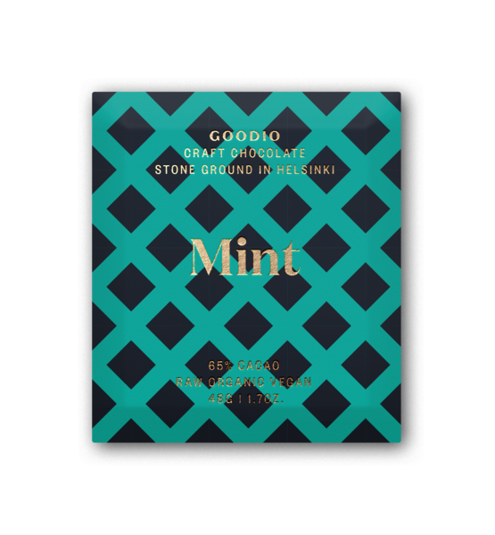 Mint (65%), Goodio Chocolate