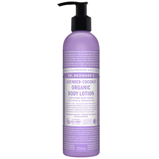 Organic Body Lotion, Dr. Bronner