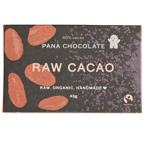 Raw Cacao (60%), Pana Chocolate