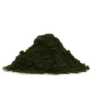 Raw Chlorella (pulver og tabletter)