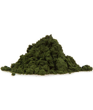 Raw Spirulina (pulver og tabletter)