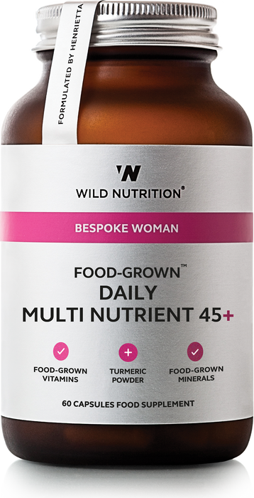 Women Daily Multi Nutrient 45+, Wild Nutrition 90 kapsler