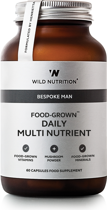 Men's Daily Multi Nutrient, Wild Nutrition 90 kapsler