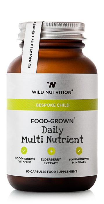Children Daily Multi Nutrient, Wild Nutrition 60 kapsler