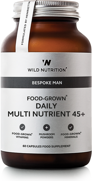 Men's Daily Multi Nutrient 45+, Wild Nutrition 90 kapsler