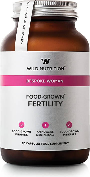 Fertility, Wild Nutrition 60 kapsler