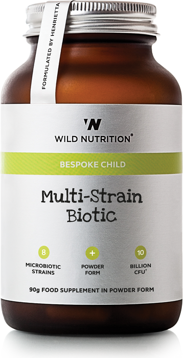 Children Multi Strain Biotic, Wild Nutrition 90 g