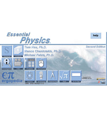 <i>Essential Physics</i> (2nd ed.) <br/>on-line e-Book and DVD<br/><p style='font-size:15px'>(ISBN: 978-1-937827-11-3) </p><p style='font-size:15px'>(Shipping charges apply) </p>