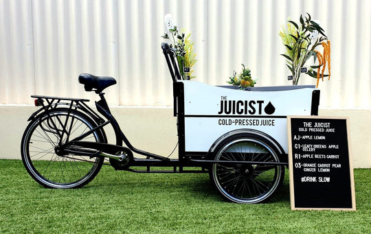 Our Eco Bike is prefect for any occasion or event!