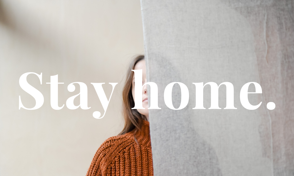Stay Home | Now is the time to watch.