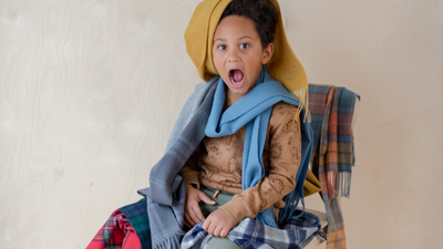 Something Big For Someone Little: Kids Scarves!