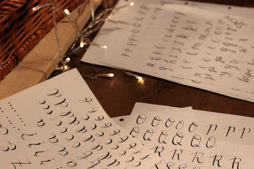 A Colsie Calligraphy Workshop