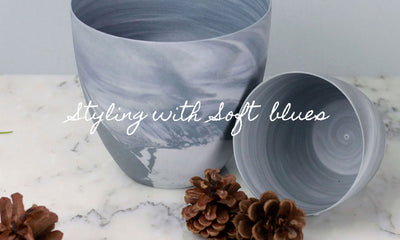 Styling With Soft Blues