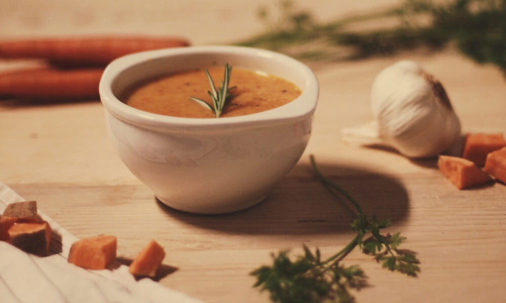 Recipe: Autumn Carrot & Sweet Potato Soup