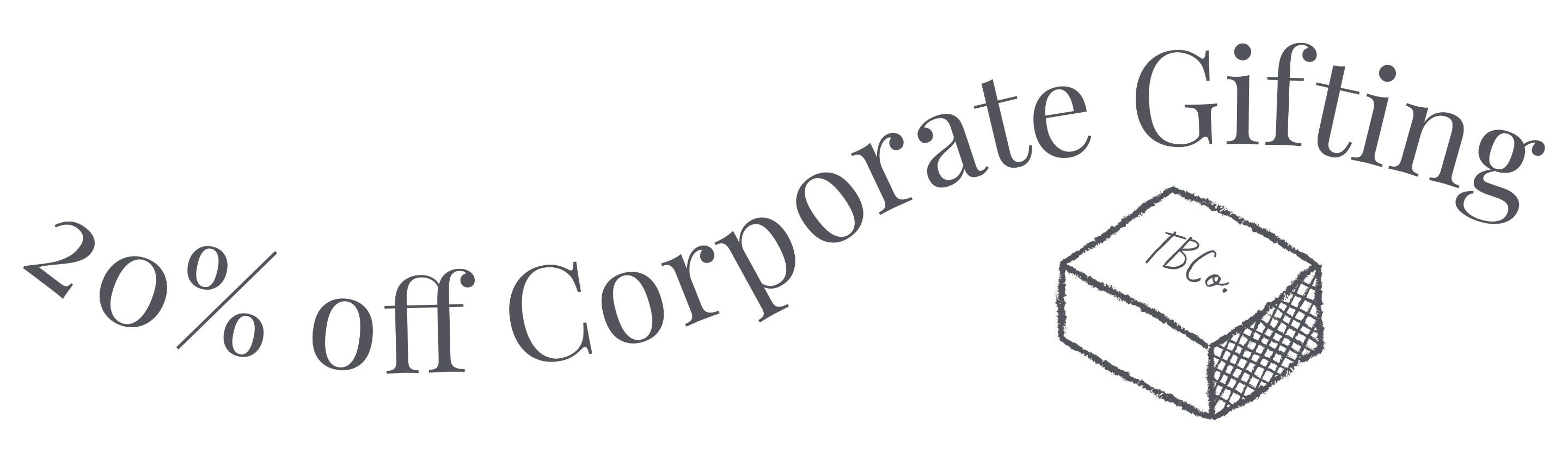20% off Corporate Gifting banner